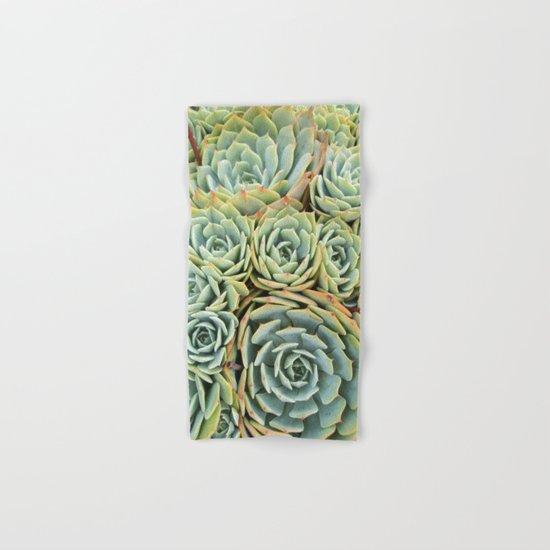 Succulentville Hand & Bath Towel