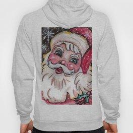 Babyfaced Santa Hoody