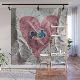Divorce Valentine Wall Mural