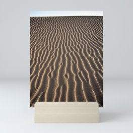 Lines in the sand - Sahara Mini Art Print