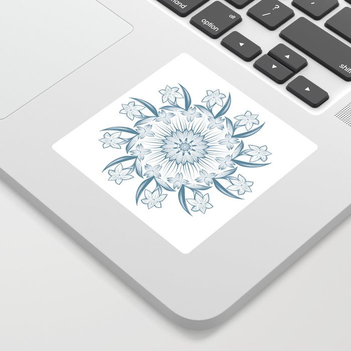 Circle is here Sticker