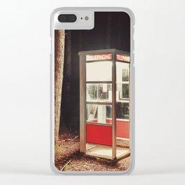 Illuminated Phone Call Clear iPhone Case