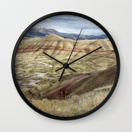 The HIlls are Alive with Color Wall Clock