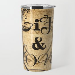 Life & Love Travel Mug