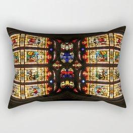 Bayeux Cathedral Rectangular Pillow