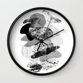 rock balancing Wall Clock