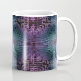 Rendering of Theoretical Spacetime and Multiverse Abstract Coffee Mug