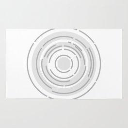 Circular Abstract Background Rug
