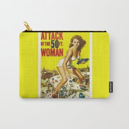 50 Foot Woman Attacks Carry-All Pouch