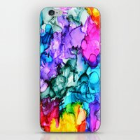 indie iPhone & iPod Skins featuring Indie Chic by Claire Day