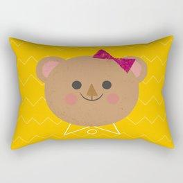 Dressy Bear Rectangular Pillow