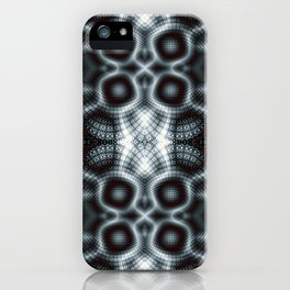 Fractal Art - nuclear fusion iPhone Case