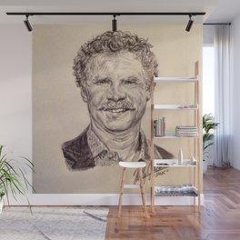 Will Ferrell Wall Mural