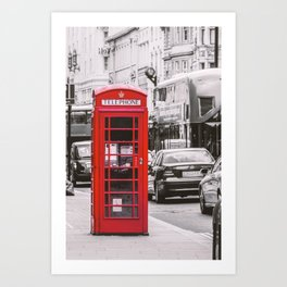 Phony in Red Art Print