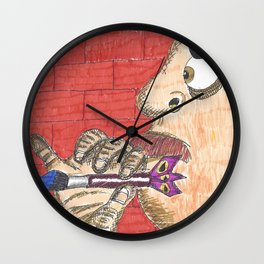 Paint Darts Wall Clock