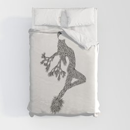 Quail Woman by CREYES of ArtFx Old Town Yucca Valley Duvet Cover