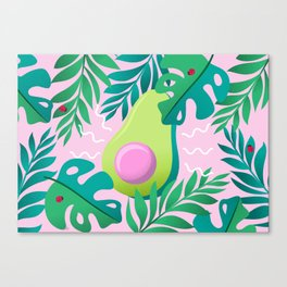 Avocado Jungle Canvas Print