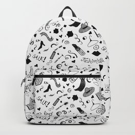 Fashionista Pattern Backpack