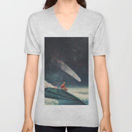 Guided by Comets Unisex V-Neck
