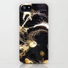 Jellyfish in the Dark iPhone Case
