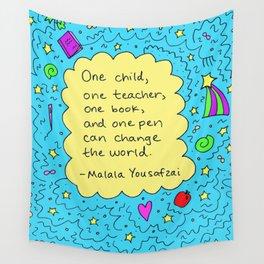 Malala Wall Tapestry