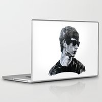 sunglasses Laptop & iPad Skins featuring Sunglasses by Charlotte Massey