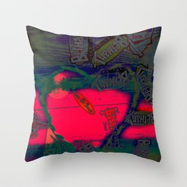 With All my Heart Remix Throw Pillow