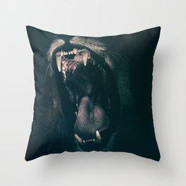 Lion's Roar Throw Pillow