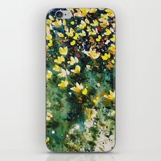field of wildflowers iPhone & iPod Skin