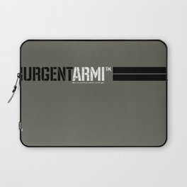 URGENTARMI (V02)... there's less reason to fear and more reason to fight. Laptop Sleeve