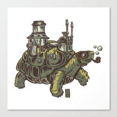 Steampunk Turtle Canvas Print