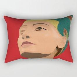Ancient Relics: Nefertiti Rectangular Pillow