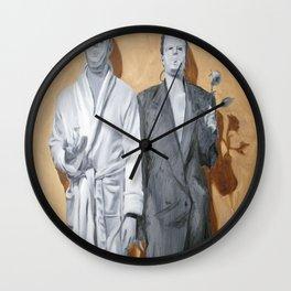 Post Modern Intimacy I Wall Clock