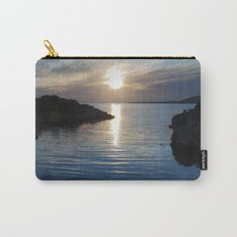 Evening at Trawenagh Bay 2 Carry-All Pouch