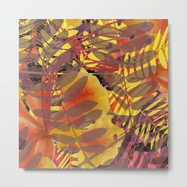 Autumn Tropical Vibe Metal Print