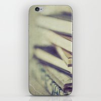 inspiration iPhone & iPod Skins featuring Inspiration by Angela Fanton