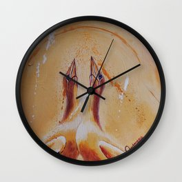 Crazy about you | Fou de toi Wall Clock