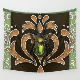 ELECTRIC BEETLE Wall Tapestry