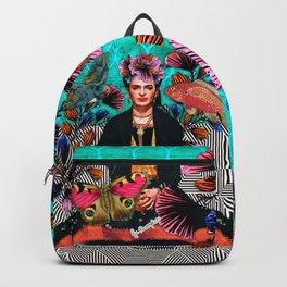 Frida´s secret smile Backpack