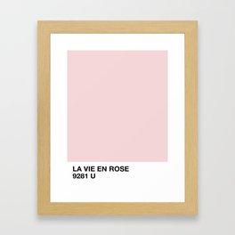 la vie en rose Gerahmter Kunstdruck