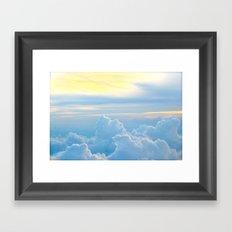 Where the Angels Fly Framed Art Print