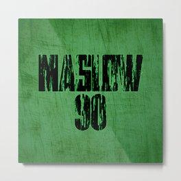 Maslow Jersey Metal Print