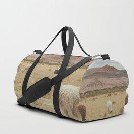 Lama Pampa bolivie Duffle Bag