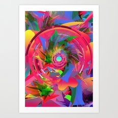 Fun Hole Art Print