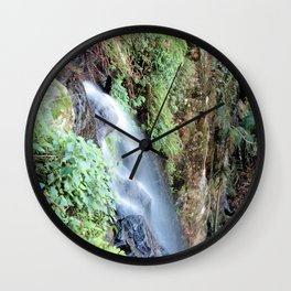 WITCHES FALLS Wall Clock