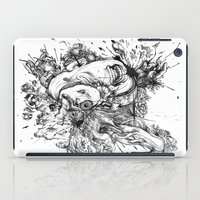 panic at the disco iPad Cases featuring panic by Maethawee Chiraphong