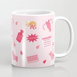 Endometriosis Period Pain Pattern Coffee Mug