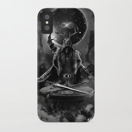 I. The Magician Tarot Card Illustration iPhone Case