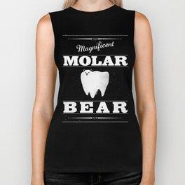 Molar Bear (Gentlemen's Edition) Biker Tank