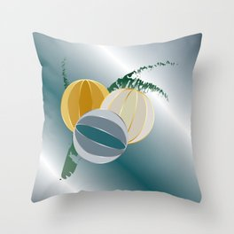 gems and jewels for Christmas Throw Pillow
